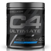 Cellucor C4 Ultimate Pre Workout Icy Blue Razz 40 Servings