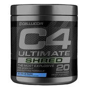 Cellucor C4 Ultimate Shred Pre Workout Icy Blue Razz