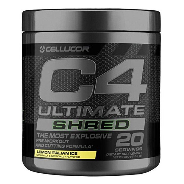 Cellucor C4 Ultimate Shred Pre Workout Lemon Italian Ice