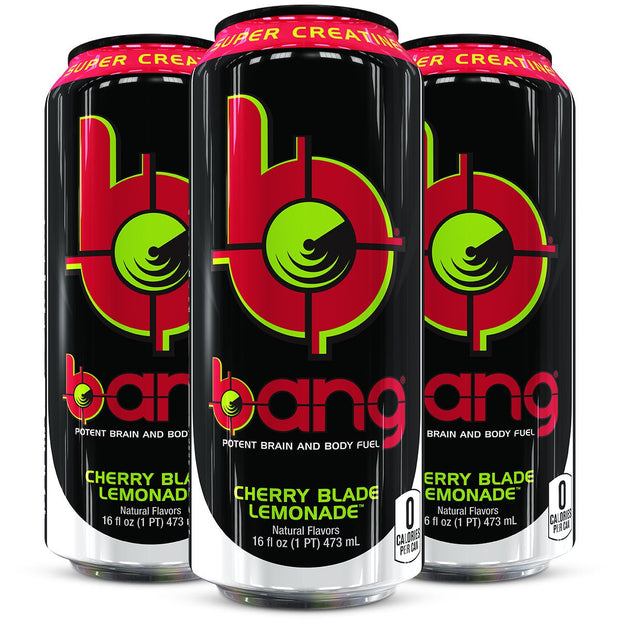 Bang Energy Drink Cherry Blade Lemonade