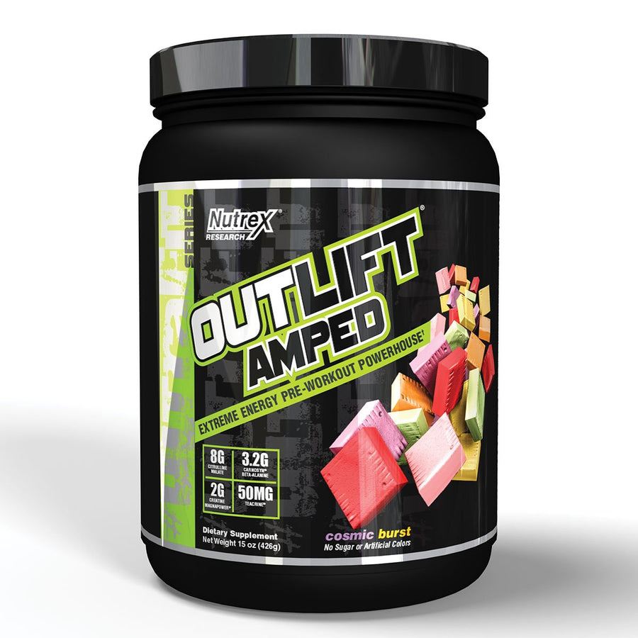 Nutrex Outlift Amped Pre Workout Fruit Candy