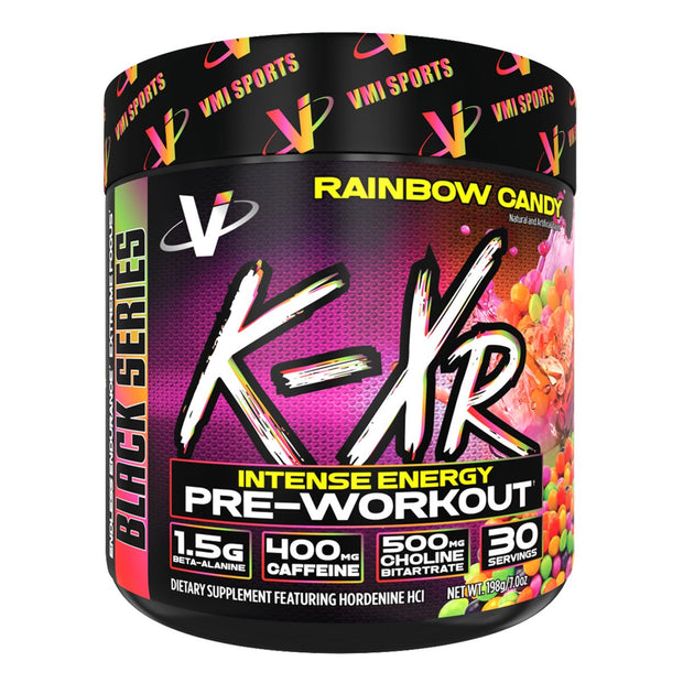 VMi K XR Pre Workout Rainbow Candy