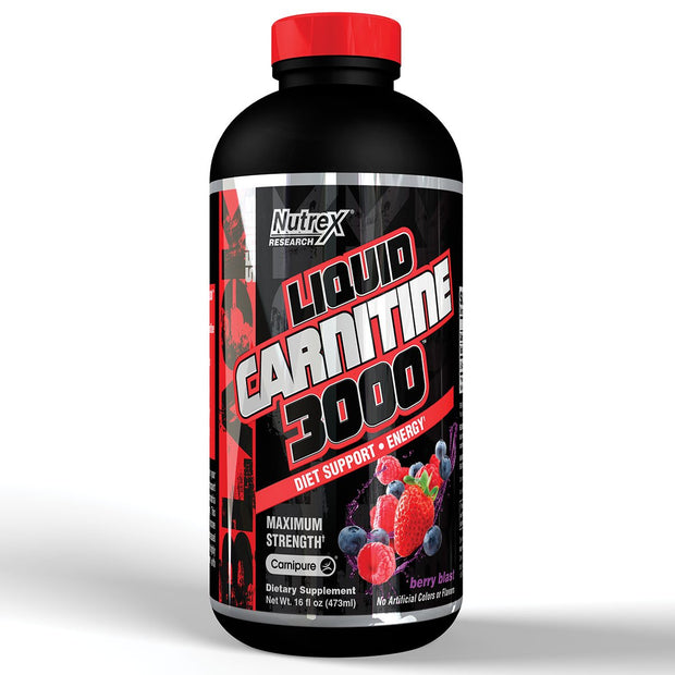Nutrex Liquid Carnitine 3000 Berry