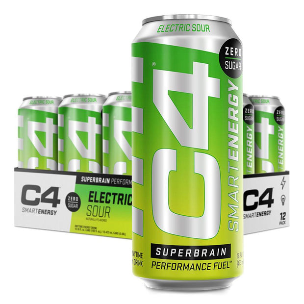 Cellucor C4Energy C4 Smart Energy Drink Electric Sour