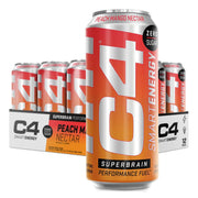 Cellucor C4Energy C4 Smart Energy Drink Peach Mango Nectar