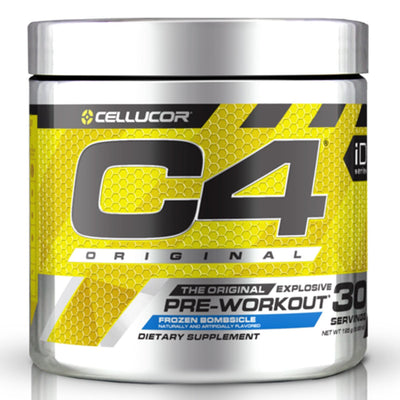 Cellucor C4 Original Pre Workout Frozen Bombsicle