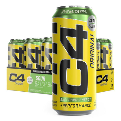 Cellucor C4 Original Carbonated Energy Drink Sour Batch Bros