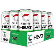 Celsius HEAT Energy Drink Cherry Lime