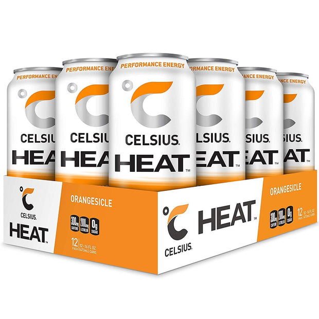 Celsius HEAT Energy Drink Orangesicle