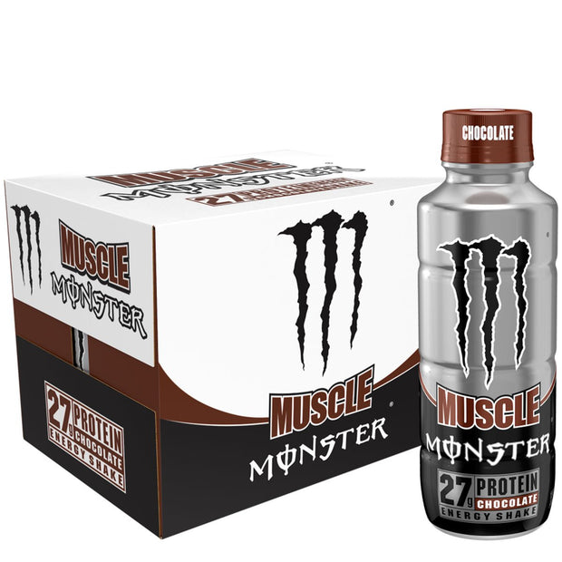 Monster Energy Muscle Monster Protein Energy Shake Bottle Chocolate