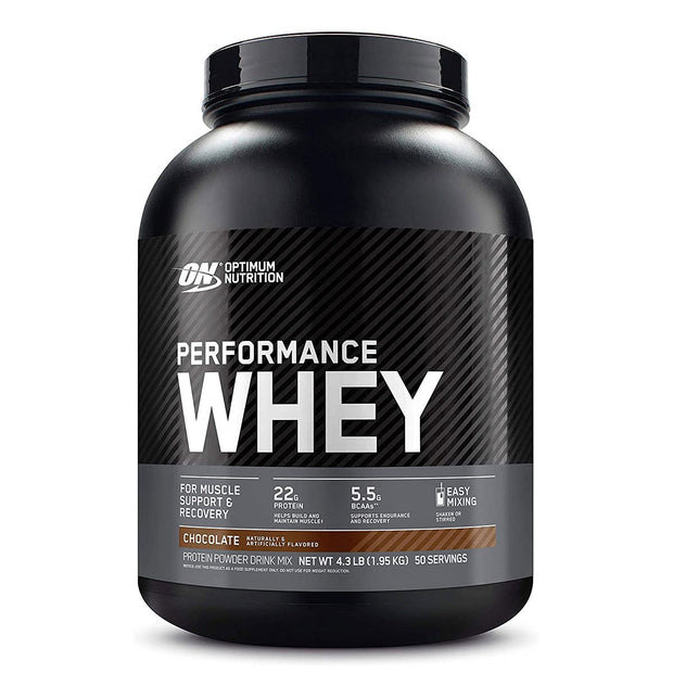 ON Optimum Nutrition Performance Whey Protein Powder Supplement Chocolate