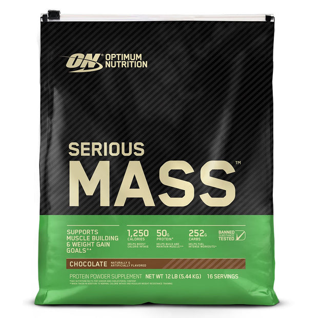 ON Optimum Nutrition Serious Mass Weight Gainer Protein Chocolate