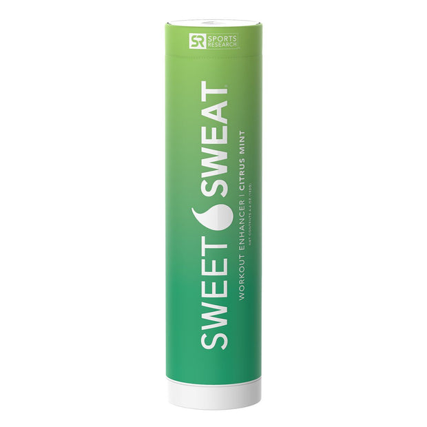 Sports Research Sweet Sweat Workout Enhancer Topical Gel Citrus Mint Stick