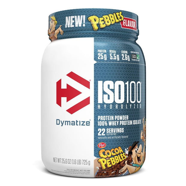 Dymatize ISO100  Cocoa Pebbles Cereal Protein Flavors