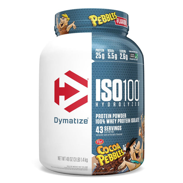 Cocoa Pebbles Dymatize ISO100 Whey Protein Cereal