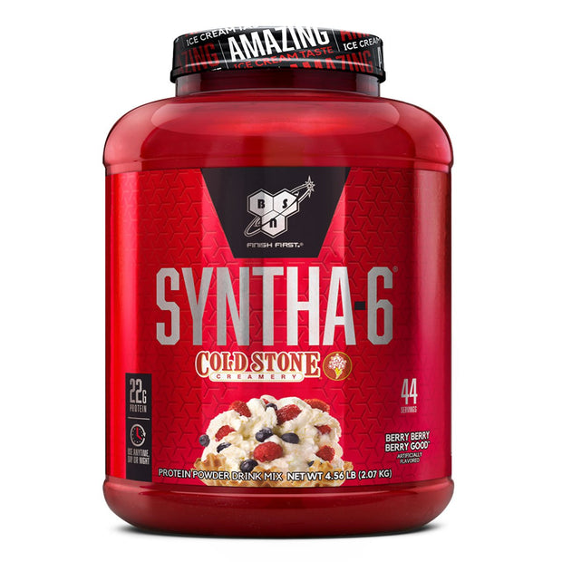 BSN Syntha 6 Cold Stone Protein Berry Berry Good