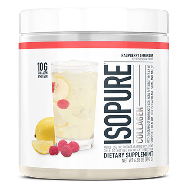 Natures Best ISOPURE Collagen Raspberry Lemonade