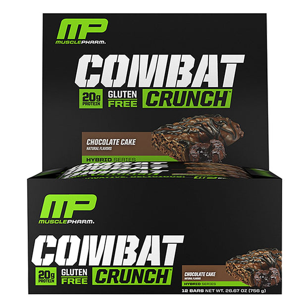 MusclePharm Combat Crunch Bars Chocolate Cake