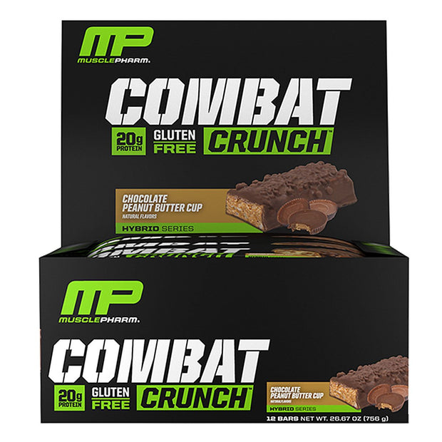 MusclePharm Combat Crunch Bars Chocolate Peanut Butter Cup