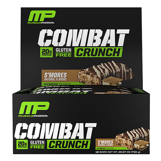 MusclePharm Combat Crunch Bars Smores