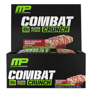 MusclePharm Combat Crunch Bars White Chocolate Raspberry