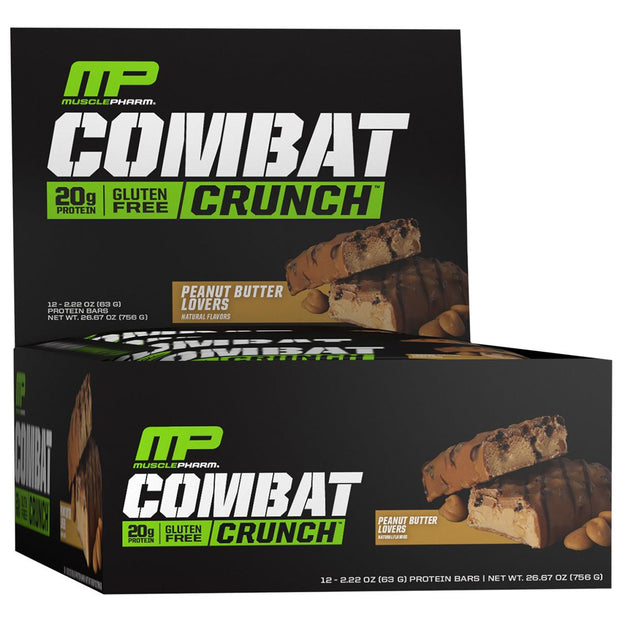 Musclepharm Combat Crunch Bars Peanut Butter Lovers