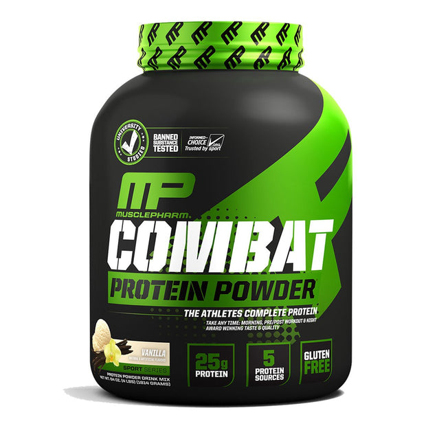 MusclePharm Combat Protein Powder Vanilla