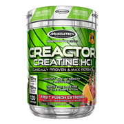 Muscletech Creactor Creatine HCL Supplement Fruit Punch Extreme