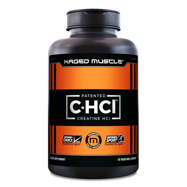 Kaged Muscle Creatine Supplement C-HCL Capsules