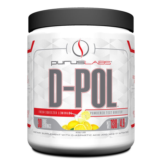 Purus Labs D-Pol Test Booster Lemonade