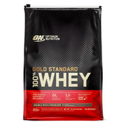 ON Optimum Nutrition Gold Standard 100% Whey Protein Powder Supplement Double Rich Chocolate