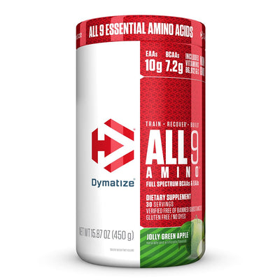 Dymatize All 9 Amino Jolly Green Apple