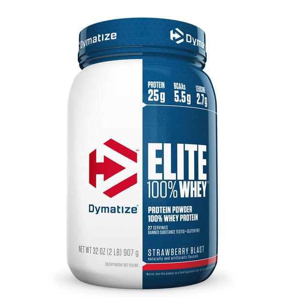 Dymatize Elite 100% Whey Strawberry Blast