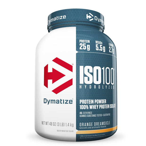 Dymatize ISO 100 Orange Creamsicle 3lbs