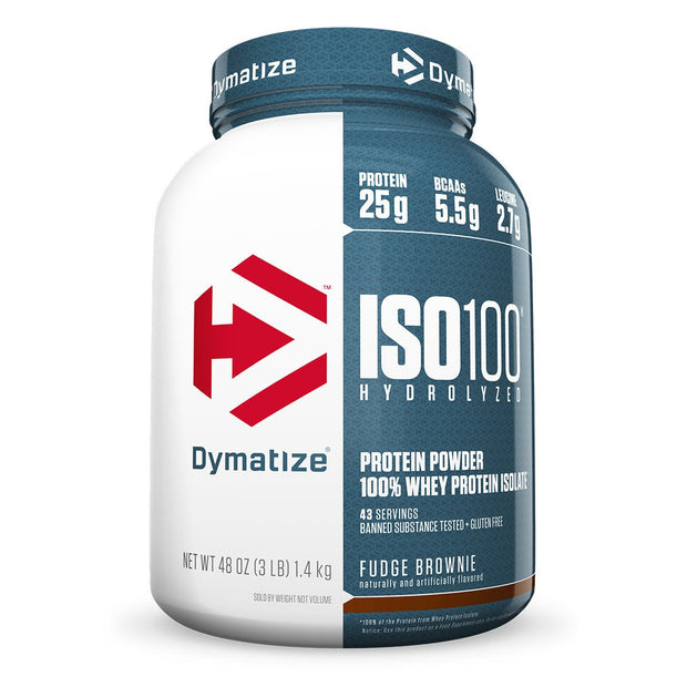 Dymatize Iso 100 Fudge Brownie 3 Lbs