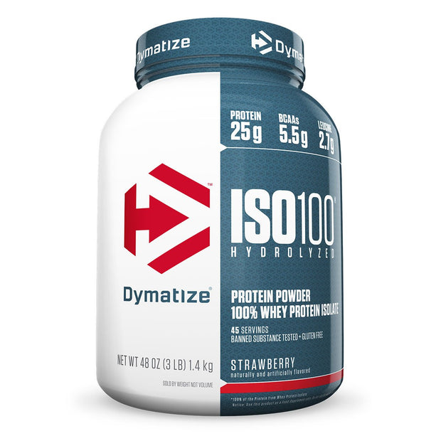 Dymatize Iso 100 Strawberry 3 Lbs.
