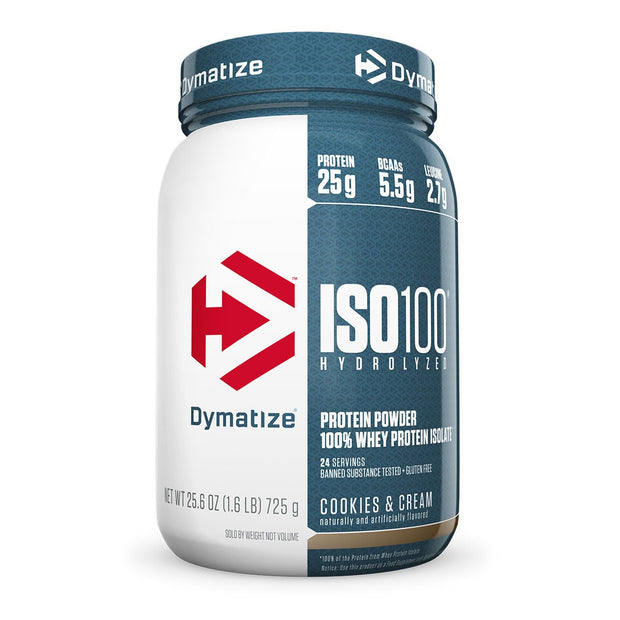 Dymatize Iso 100 Cookies and Cream 1.6 Lbs.