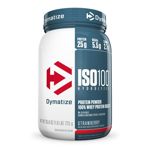 Dymatize Iso 100 Strawberry 1.6 Lbs.