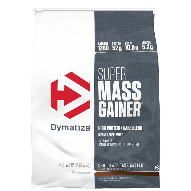 Dymatize Super Mass Gainer Chocolate Cake Batter