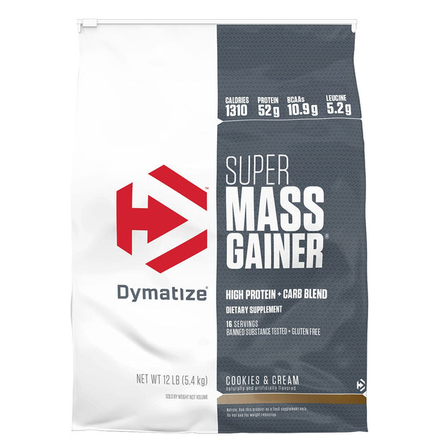 Dymatize Super Mass Gainer Cookies and Cream