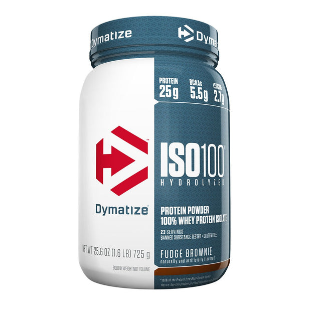 Dymatize Iso 100 Fudge Brownie 1.6 Lbs.