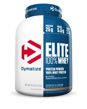 Dymatize Elite 100% Whey 5lbs Cookies and Cream