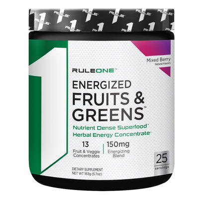 Rule One R1 Energized Fruits and Greens