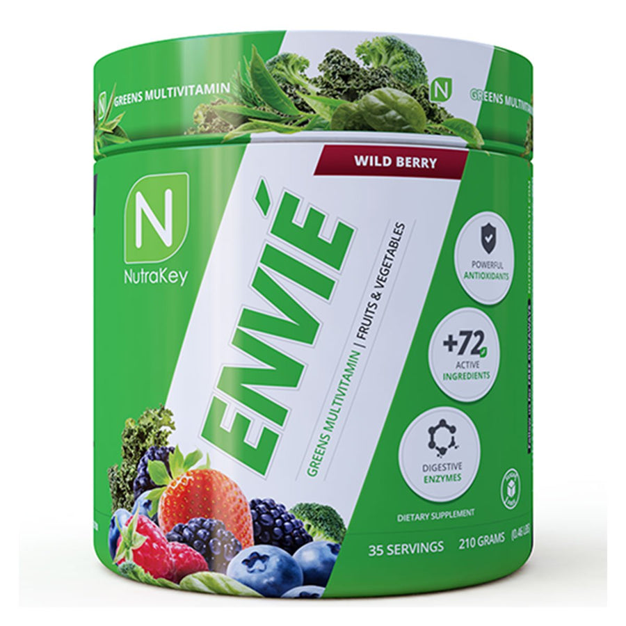 Nutrakey Envie Greens Supplement Pineapple Mango