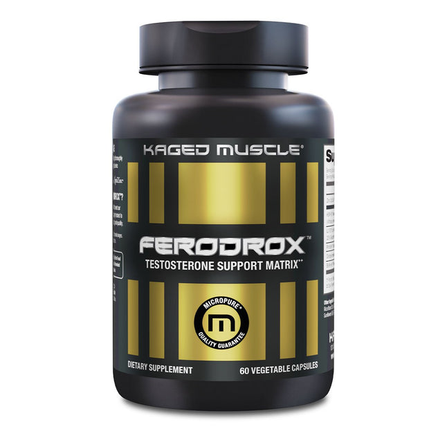 Kaged Muscle Ferodrox Testosterone Booster
