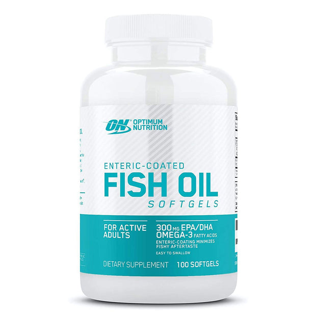 Optimum Nutrition Enteric Coated Fish Oil Softgels 100