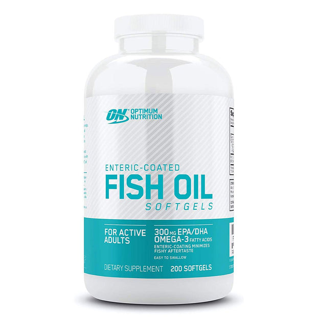Optimum Nutrition Enteric Coated Fish Oil Softgels 200