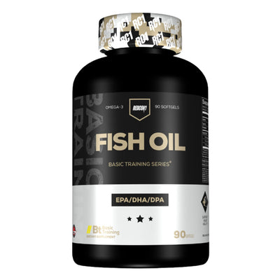 Premium Fish Oil Omega Basic Training Supplement by Redcon1