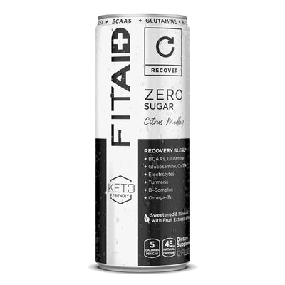LIFEAID Zero Sugar FITAID Recovery Post Workout Drink Citrus Medley