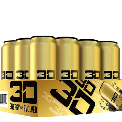 3D Energy Drink GOLD Pina Colada Christian Guzman